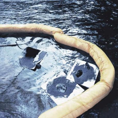 Barreras absorbentes tubulares hidrocarburos
