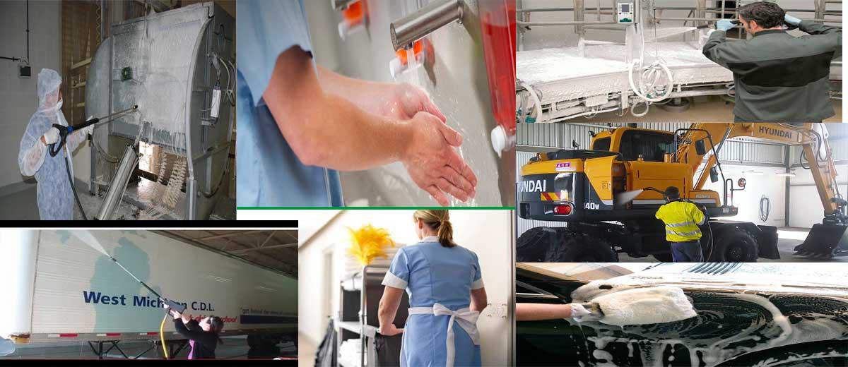 Detergentes industriales